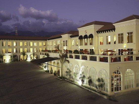 Spanish Court Hotel In Kingston, Jamaica.