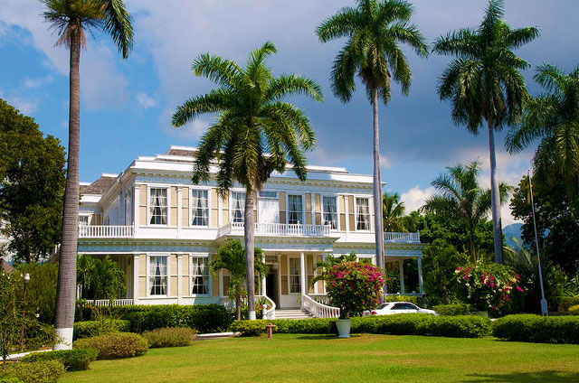 Devon House In Kingston, Jamaica