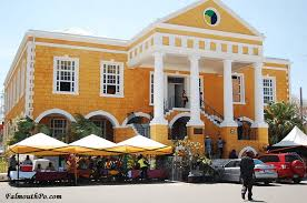 Falmouth Court House In Jamaica