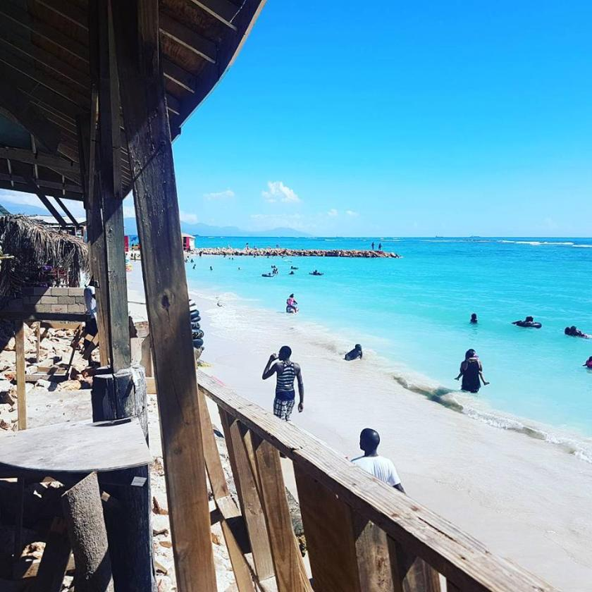 Hellshire Beach In Portmore, Jamaica
